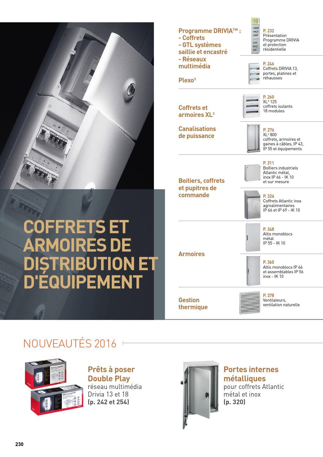Armoire Pour Cacher Tableau Electrique legrand coffrets et armoires de distribution et d'équipement