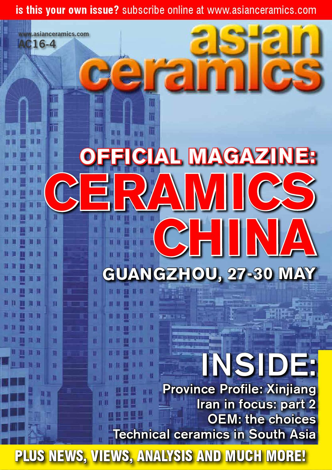 Asian Ceramics - AC16-4 Edition by Bowhead Media Ltd - issuu