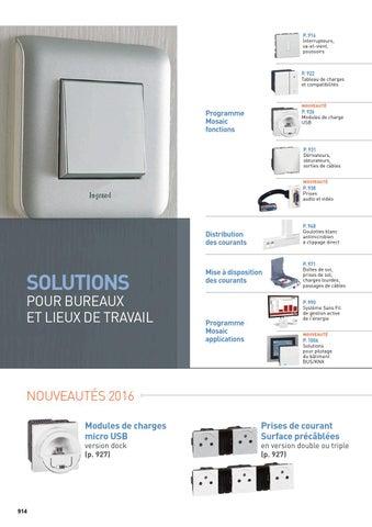 Solutions By De Pour Travail Lieux Madandaf Bureaux Legrand Et v0nwNm8