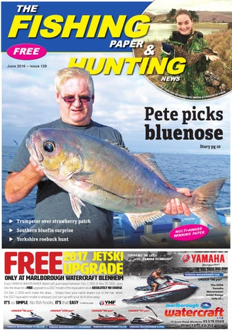 a5d14511e7bbaf The Fishing Paper   Hunting News - June 2016 by The Fishing Paper ...