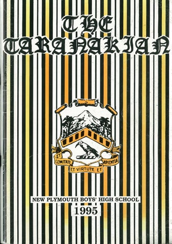 691c9d4eeb5 1995 The Taranakian Vol. 84 by New Plymouth Boys  High School - issuu