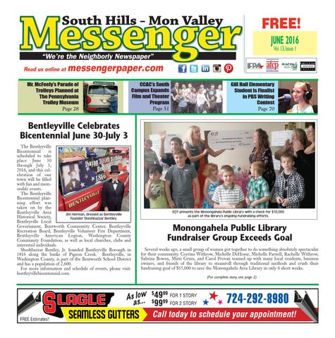 South hills mon valley messenger september 2014 by south hills mon south hills mon valley messenger june 2016 fandeluxe Choice Image