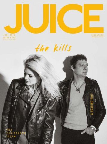 e7cf0bdd17df JUICE June 2016 - The Kills