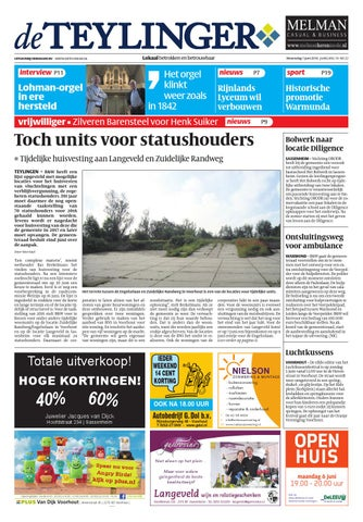 c9cf0ad9a10 Tl week 22 16 by Uitgeverij Verhagen - issuu