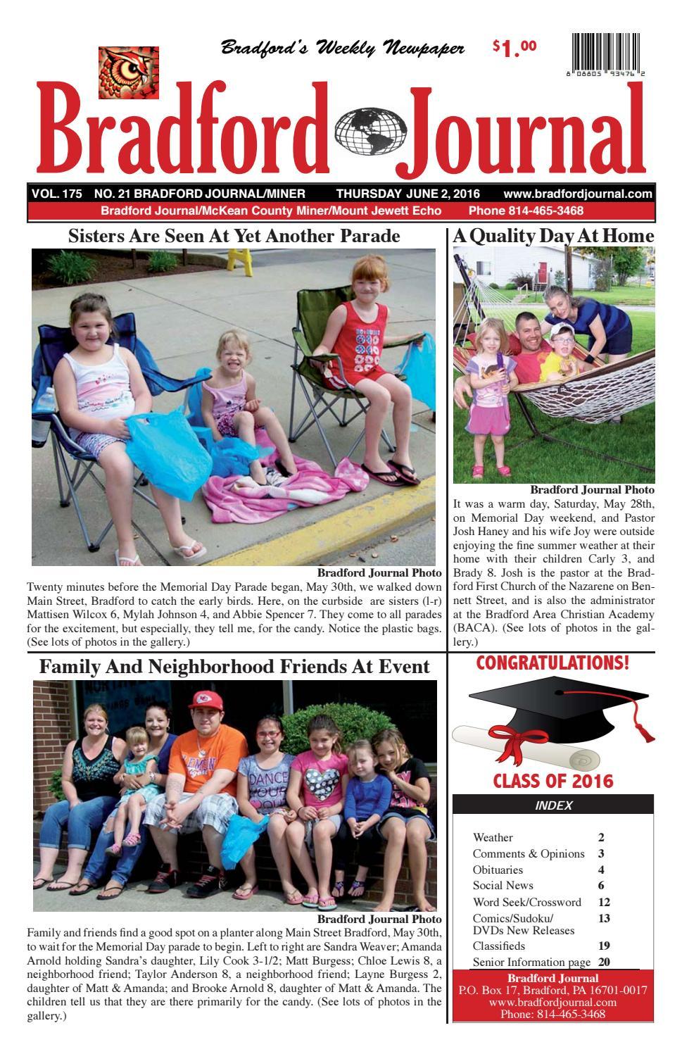 Bradfordjournalcolorissue6 2 16u by Bradford Journal - issuu
