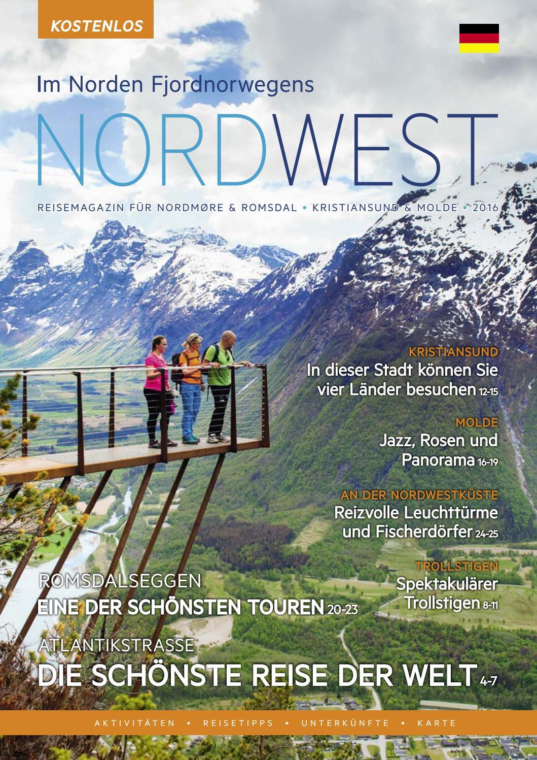 Reisemagazine Nordwest 2016 by Tibe - issuu