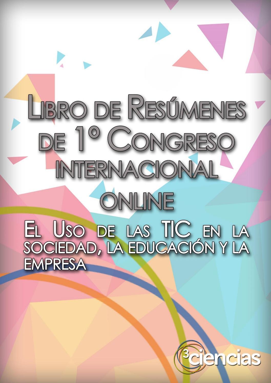 Libro de resúmenes del 1er congreso internacional online del uso de ...