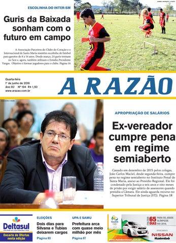fe092f0492 Jornal A Razão 01 06 2016 by Jornal A Razão - issuu