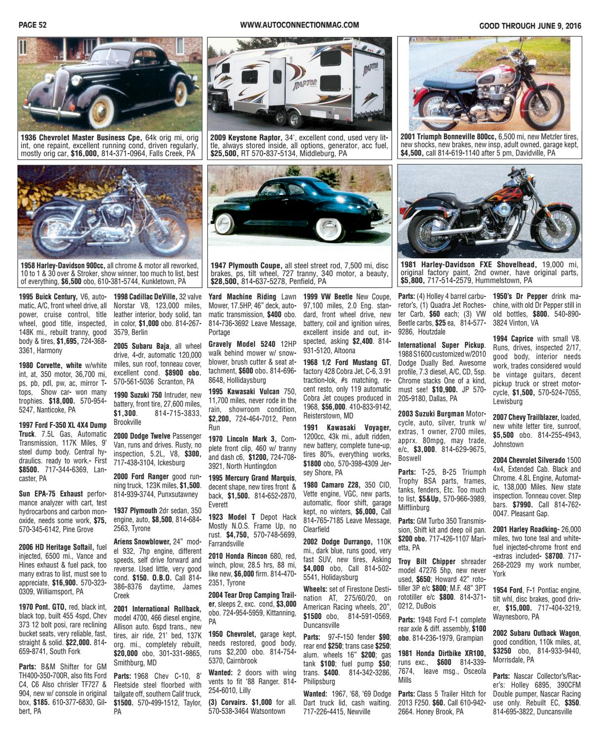 06-09-16 Auto Connection Magazine by Auto Connection