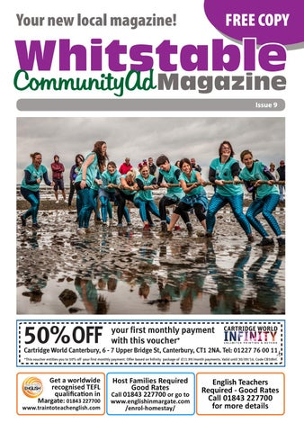 Whitstable Communityad Magazine By Kelly Stacey Issuu