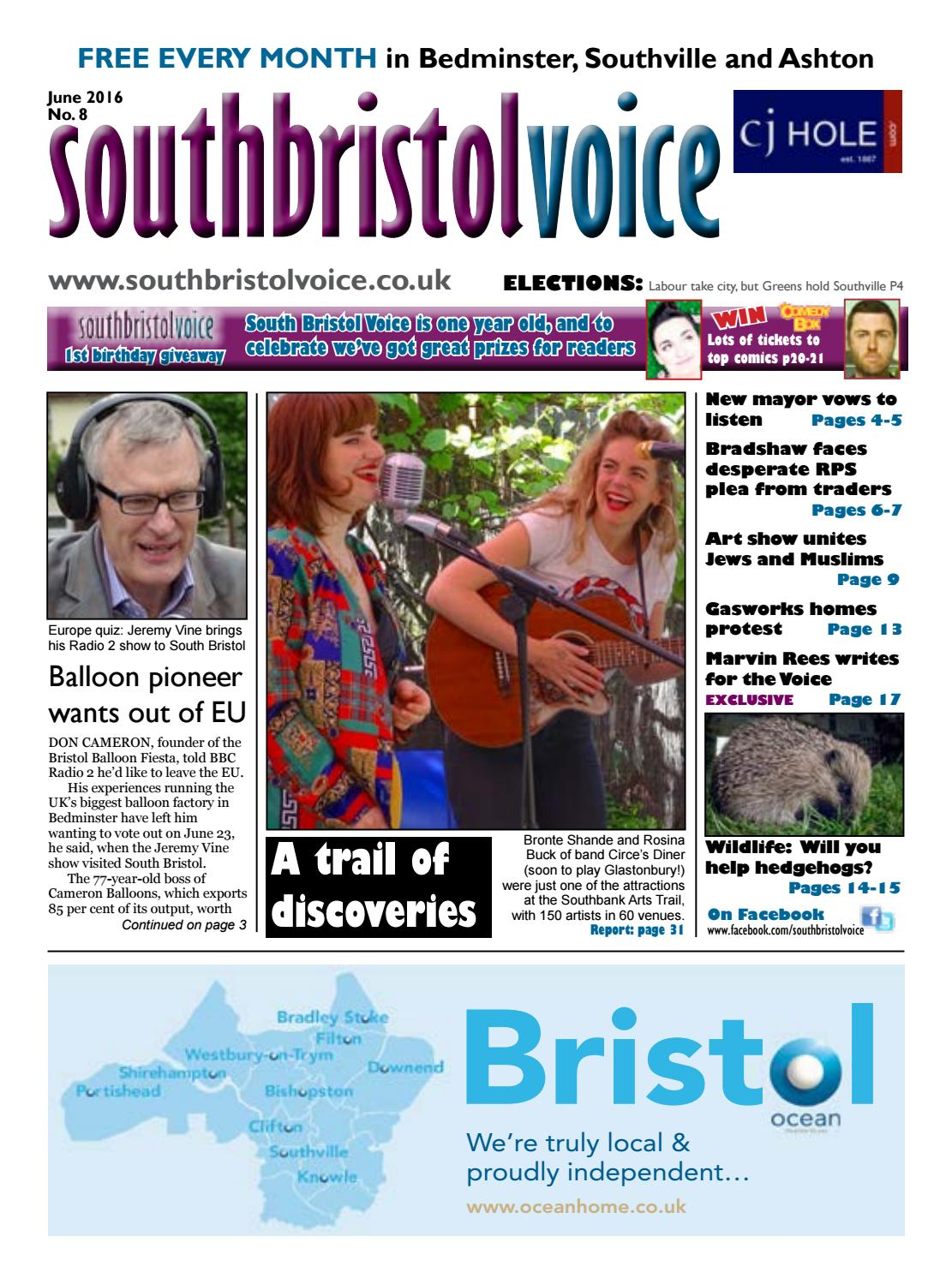 South Bristol Voice Bedminster June 2016 By South Bristol Voice