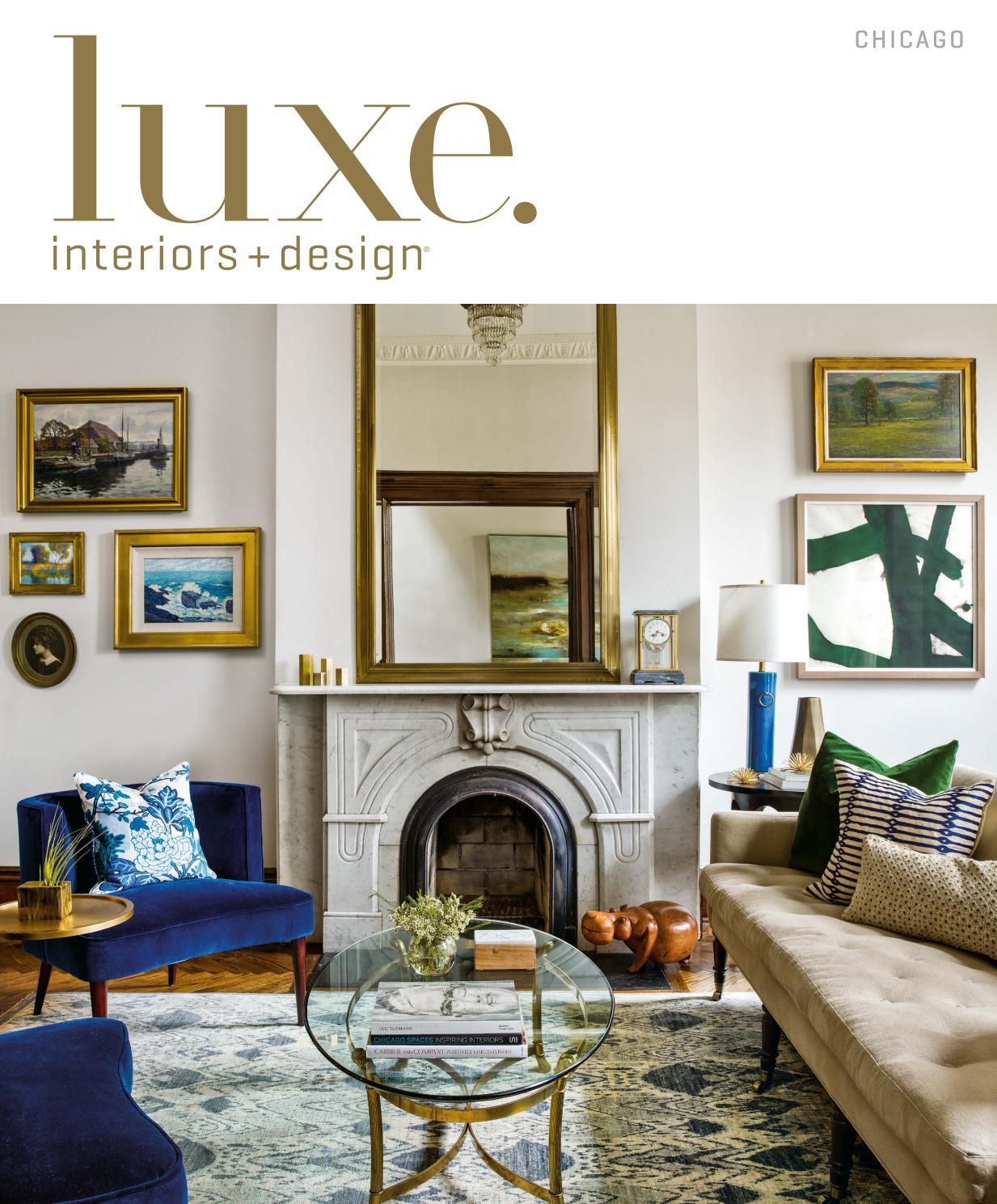 Luxe magazine july 2016 chicago by sandow issuu for International home decor llc