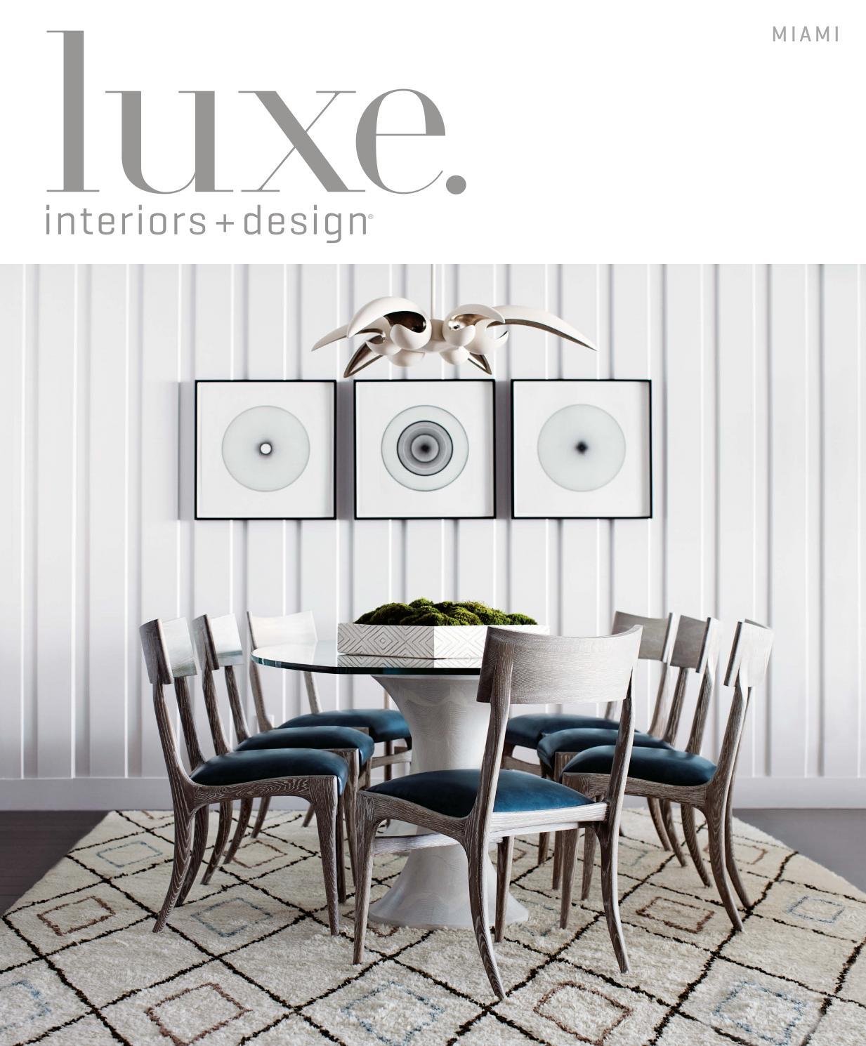 Luxe magazine july 2016 miami by sandow issuu