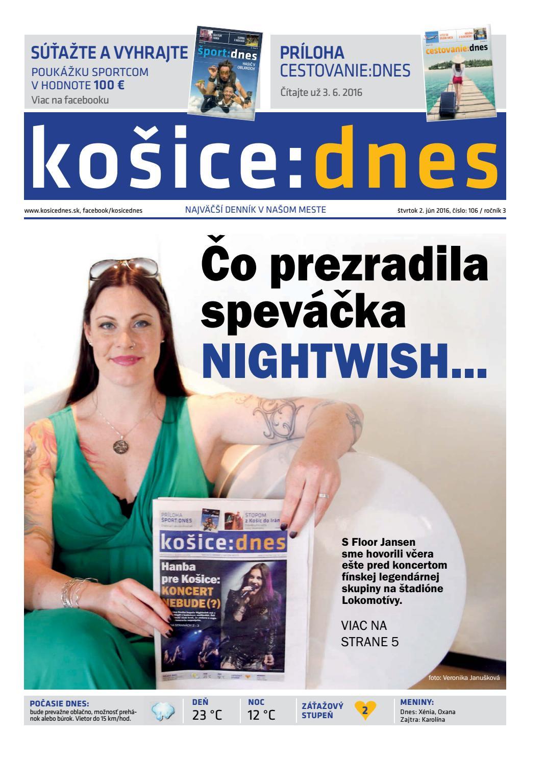 e8b4909e63 košice dnes 2.6.2016 by KOŠICE DNES - issuu