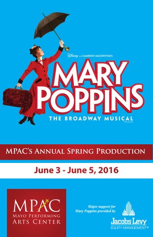 mary poppins the musical script