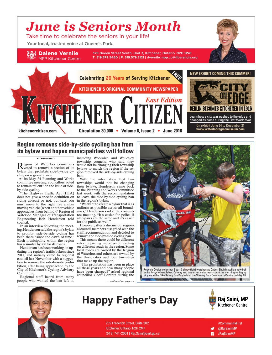 Kitchener Citizen - East Edition - June 2016 by Kitchener Citizen ...