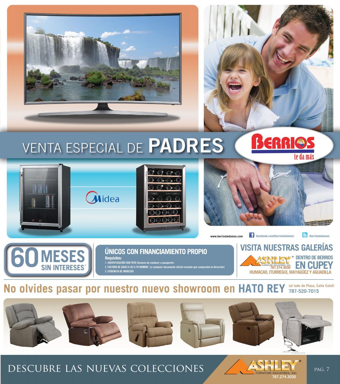 Mueblerias Berrios Shopper Venta Especial De Padres By Berrios  # Muebles Berrios Pr