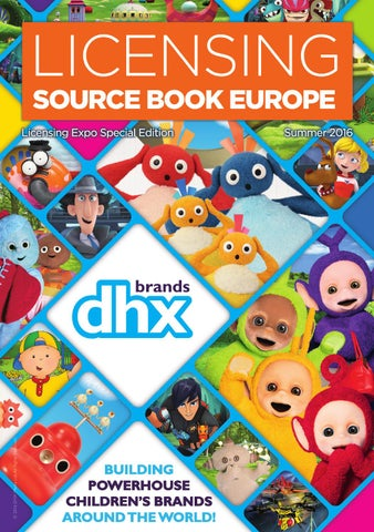 Licensing Source Book Europe - Summer 2016 Issue by Max Publishing ... 940a55a4cbc60