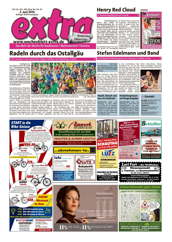 extra Kaufbeuren vom Donnerstag, 2. Juni by rta.design GmbH - issuu