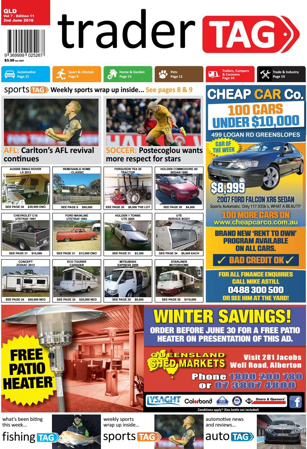 Tradertag Queensland Edition 11 2016 By Design Issuu Wenzel Solar Shower Bag 20 Litres Tas Air Black