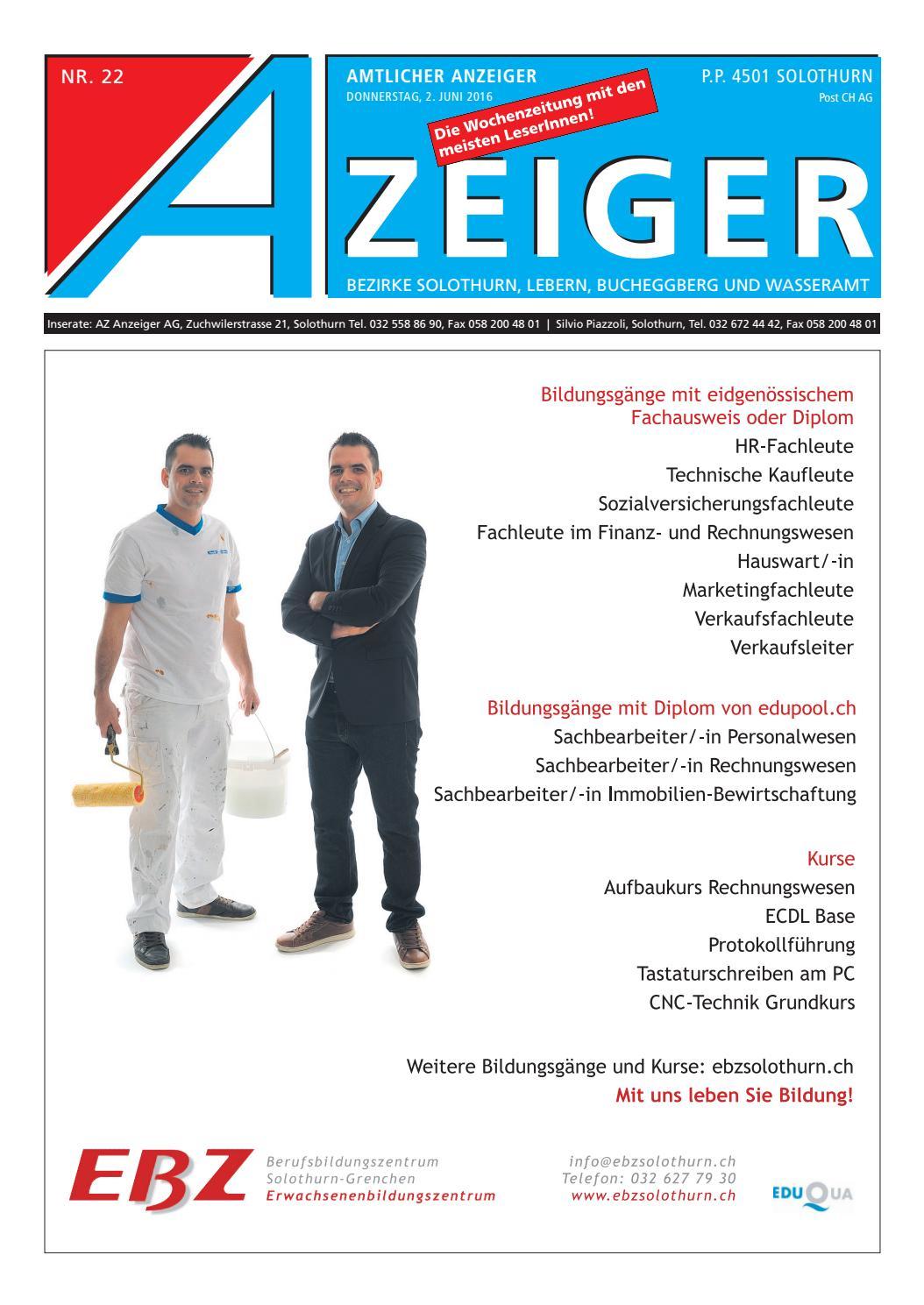 Azeiger 22 2016 by AZ-Anzeiger - issuu
