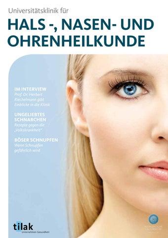 tirol kliniken - HNO by eco.nova verlags gmbh - issuu