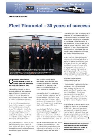 Fleet financial mallusk