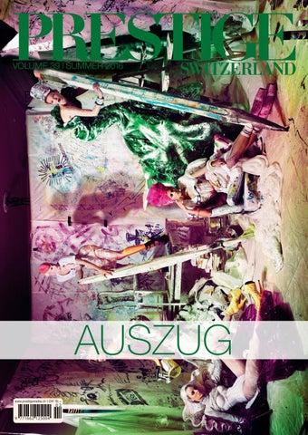 PRESTIGE Switzerland Volume 39 Auszug by rundschauMEDIEN AG
