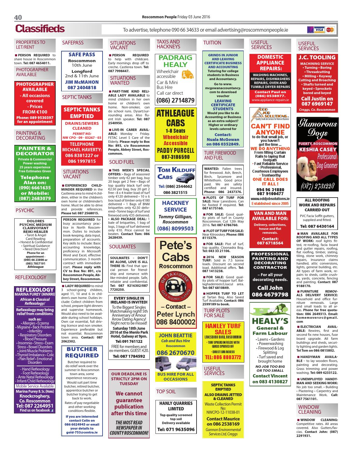 Roscommon classifieds, Roscommon Free classified Ads