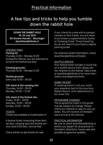 66c5e82fa72 Subbacultcha Down The Rabbit Hole 2016 Festival Guide by ...