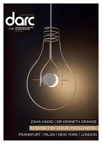 Decorative lighting in architecture 16 may jun 2016