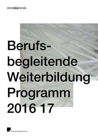 GRUNDIG AKADEMIE Berufsbegleitende Weiterbildung by GRUNDIG AKADEMIE ...