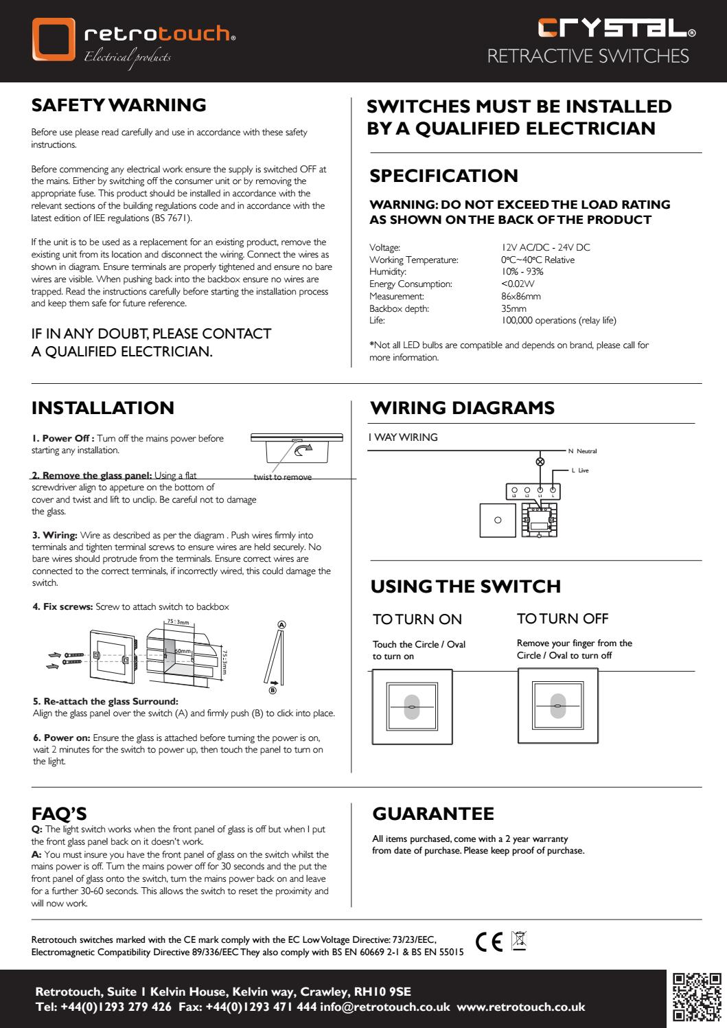 Wondrous Retrotouch Crystal Touch Retractive Switches A By Retrotouch Issuu Wiring 101 Tzicihahutechinfo