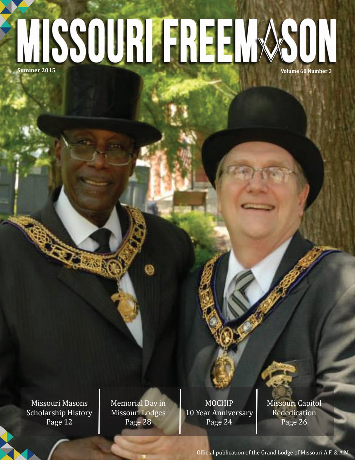Missouri freemason magazine v60n03 2015 summer by missouri missouri freemason magazine v60n03 2015 summer by missouri freemasons issuu m4hsunfo