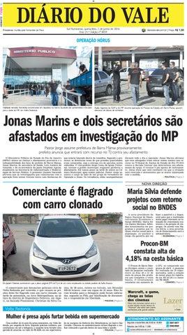 8039 diario do vale quinta feira 02 06 2016 by Diário do Vale - issuu 70ceb51a2bb27