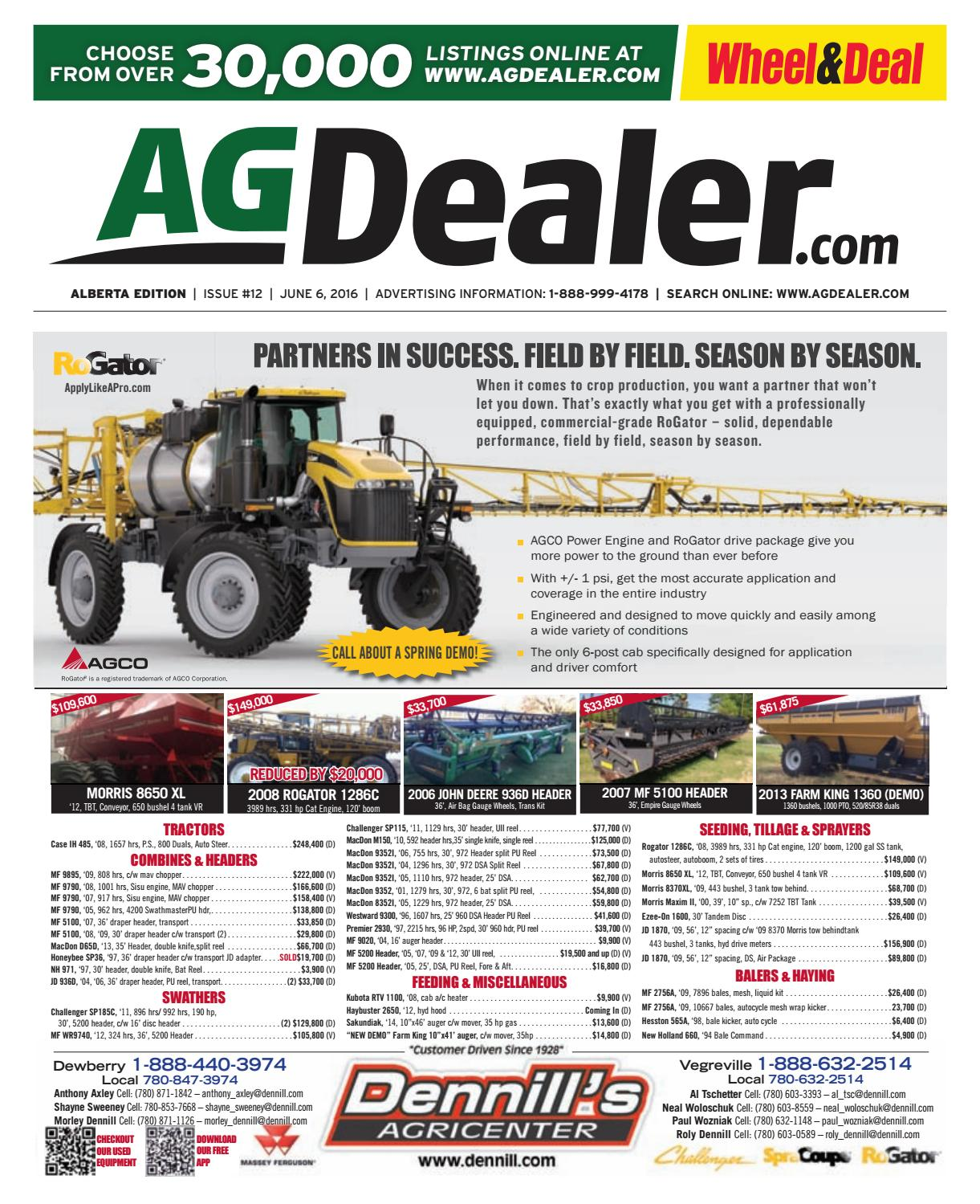 Wheel & Deal Alberta, June 6, 2016 by Farm Business Communications -  issuu