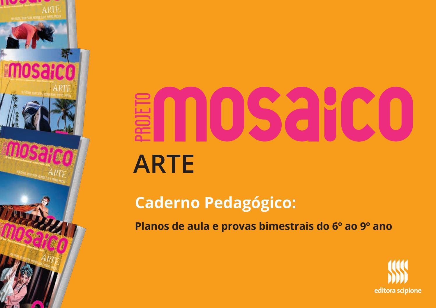 Caderno mosaico arte by SOMOS Educação - issuu f5e20dc02148d