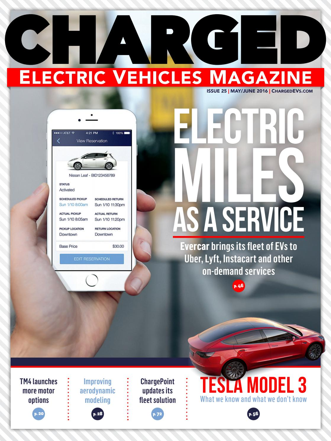 CHARGED Electric Vehicles Magazine - Issue 25 MAY/JUN 2016