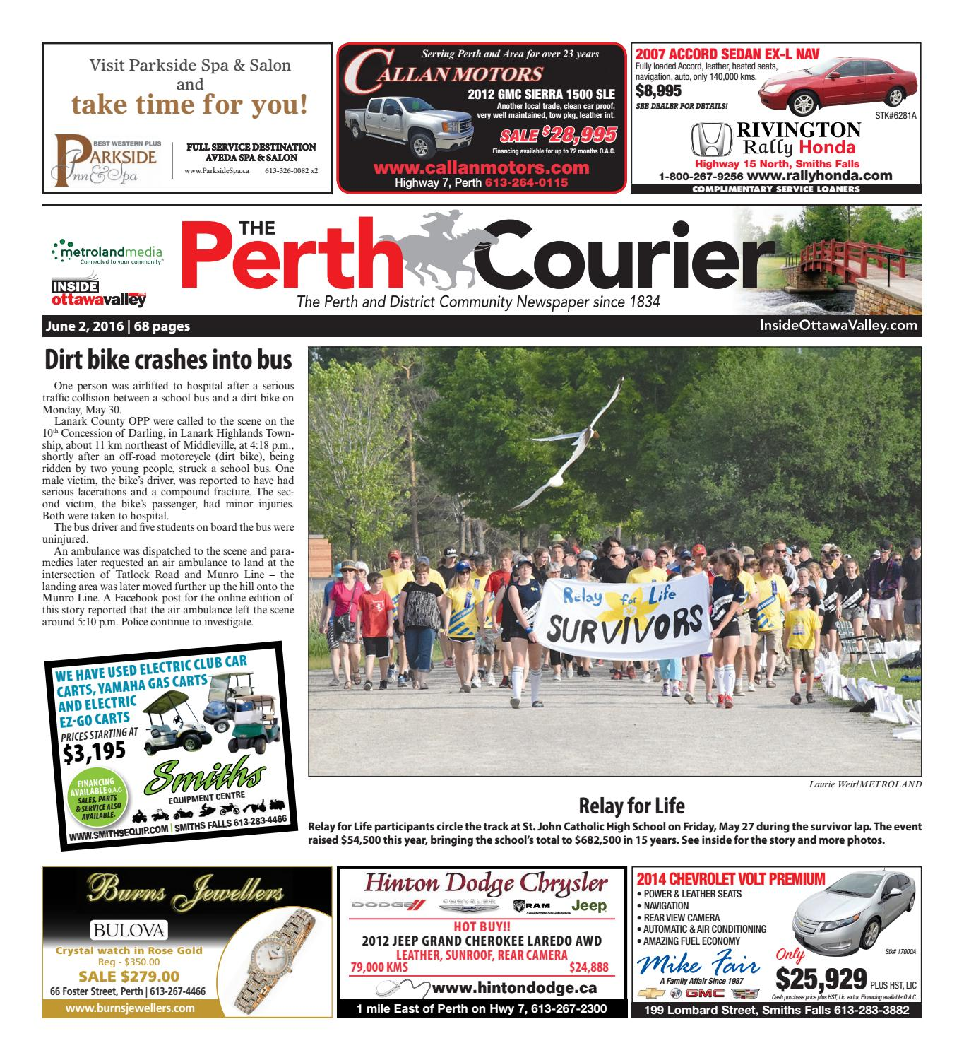 Perth060216 by metroland east the perth courier issuu fandeluxe Gallery