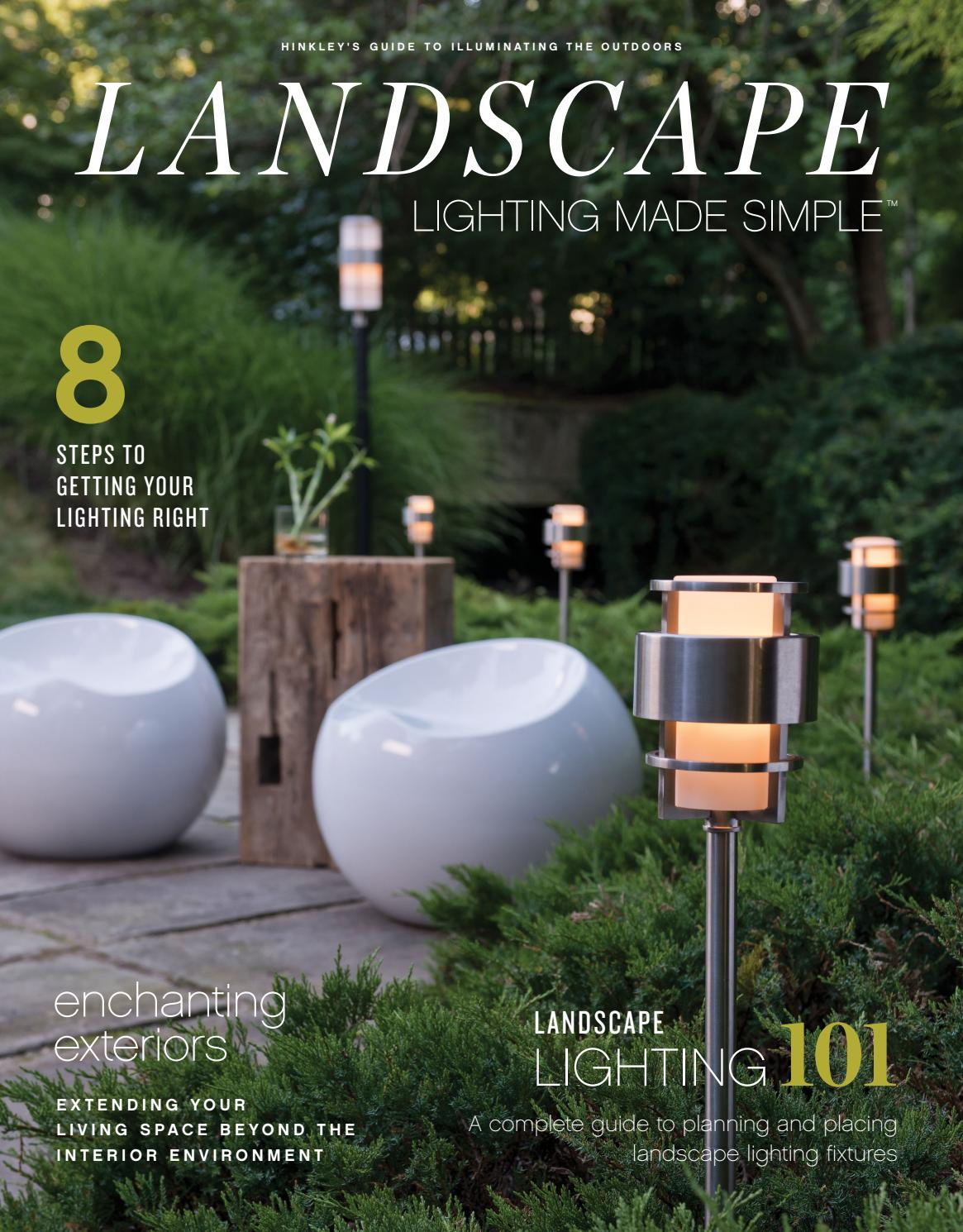 Landscape Lighting Made Simple by Hinkley Lighting - issuu