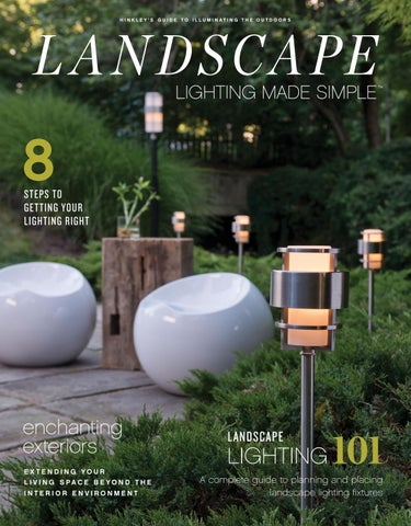 Landscape Lighting Made Simple By Hinkley Issuu
