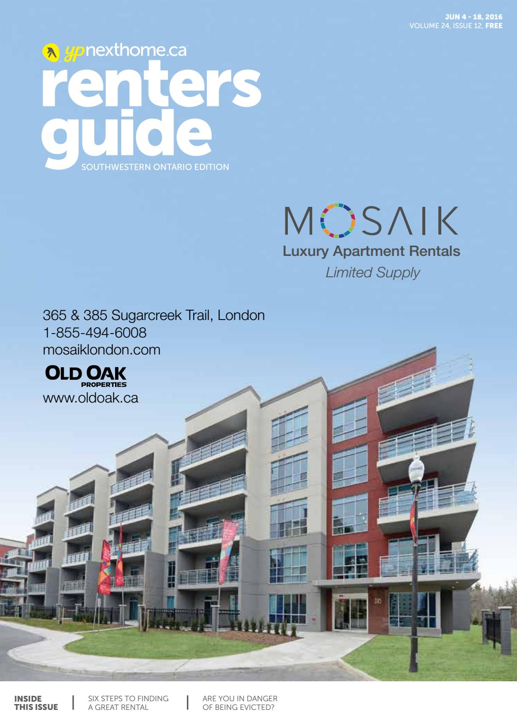 Southwestern Ontario Renters Guide - 4 Jun, 2016 by NextHome - issuu