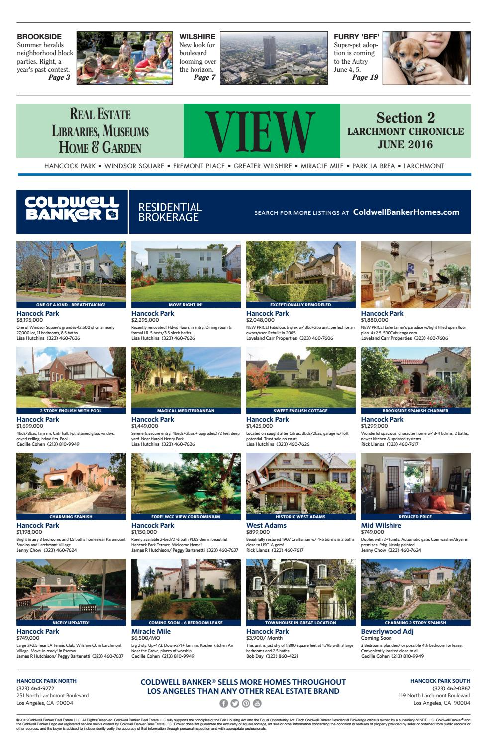 Lc Real Estate 06 2016 By Larchmont Chronicle Issuu