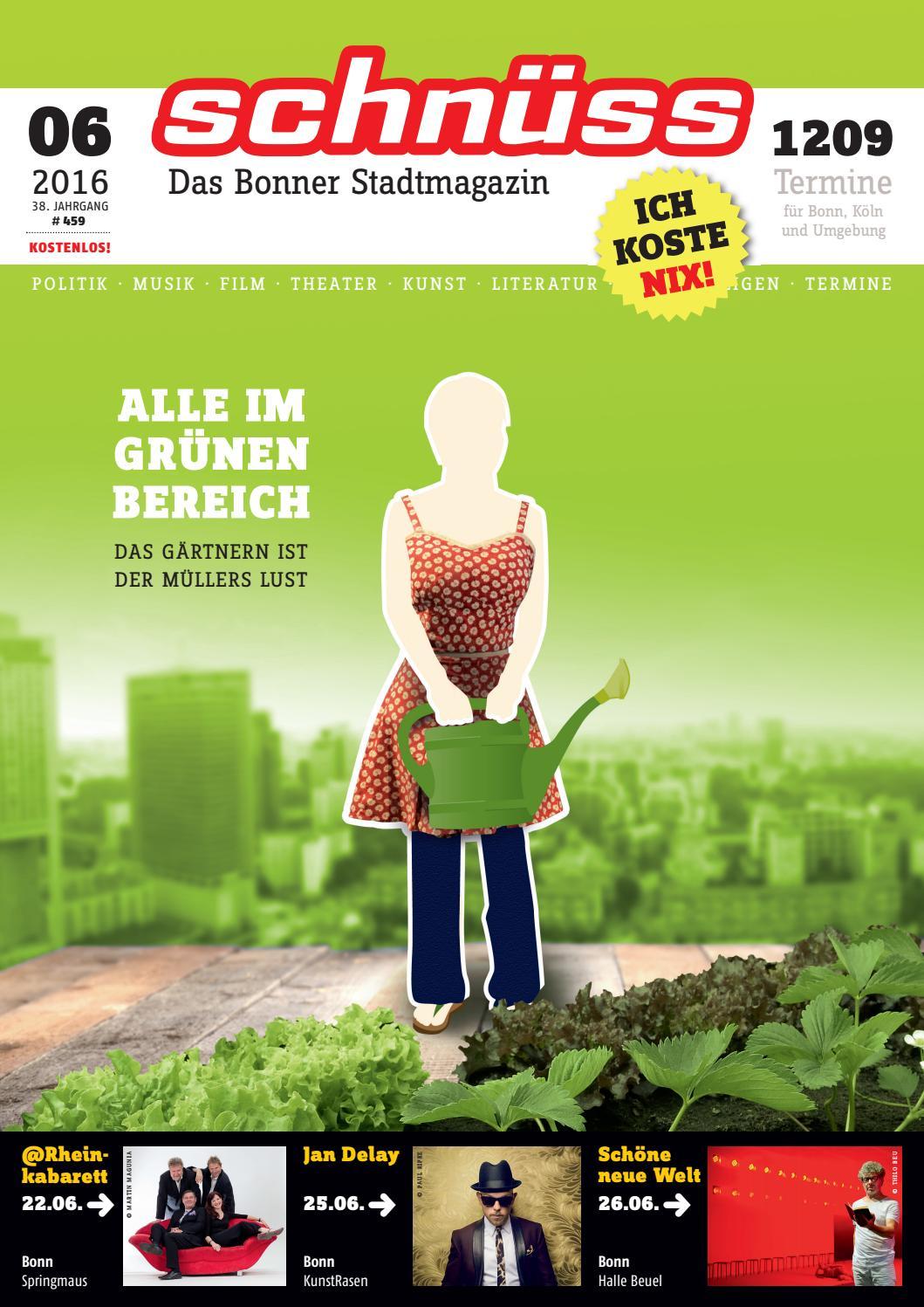 Schnüss 2016/06 By Schnüss   Das Bonner Stadtmagazin   Issuu