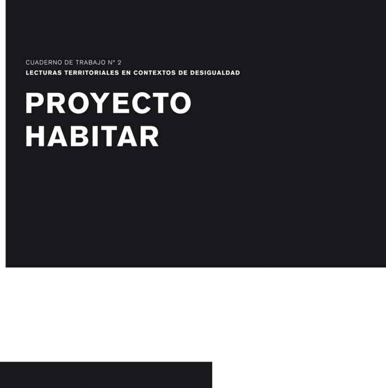 Cuaderno De Trabajo Nº 2 By Proyecto Habitar Issuu