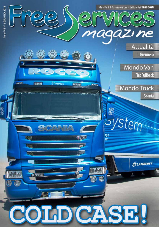 2 pedane decorative in acciaio inox per camion Scania R