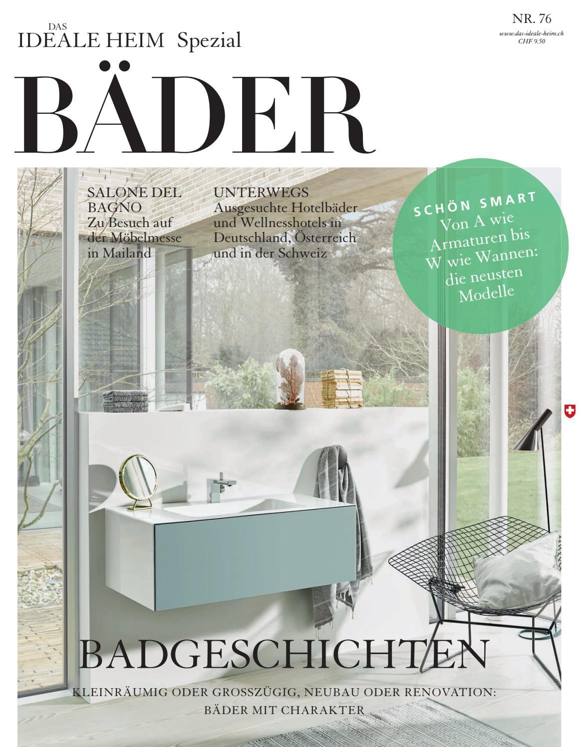 Das Ideale Heim – Bäder Spezial 2016 by Archithema Verlag - issuu