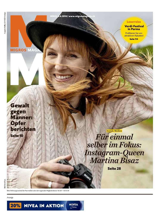 Migros magazin 23 2016 d vs by Migros-Genossenschafts-Bund - issuu