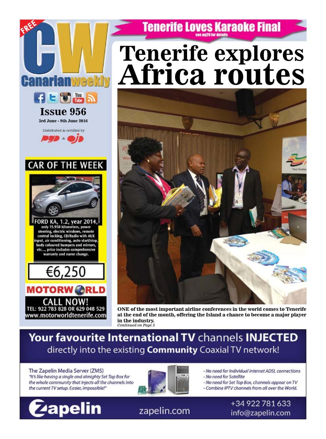 Cw issue 956 by Canarian Weekly - issuu
