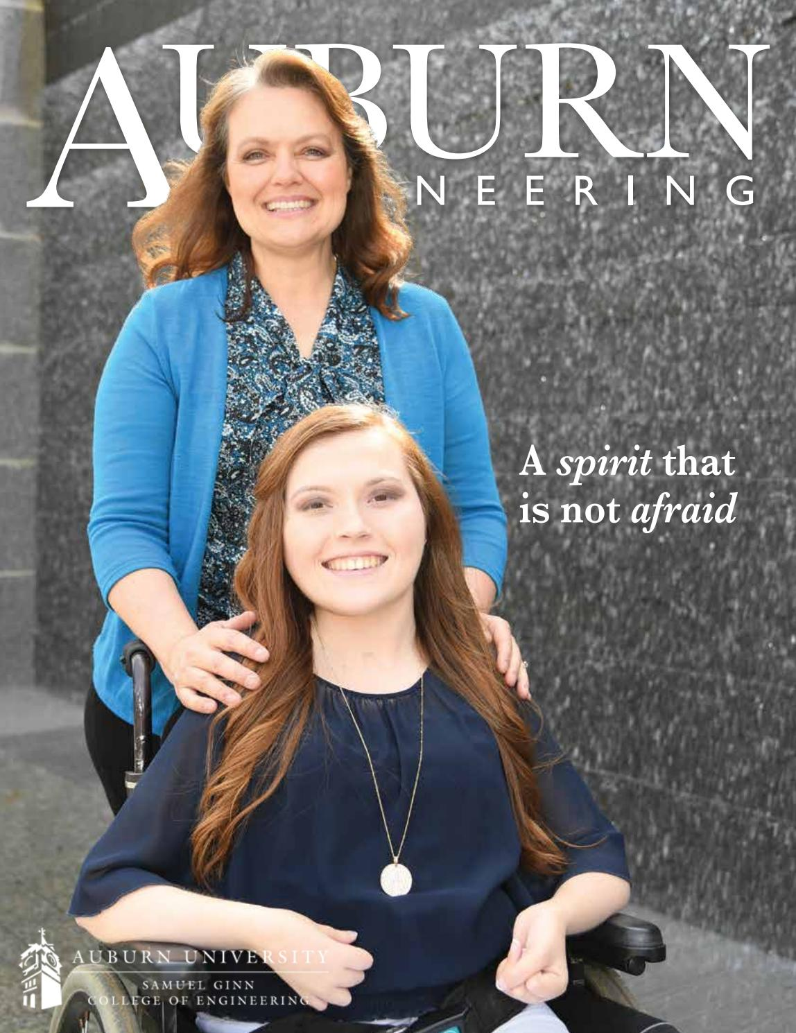 2016 engineering spring magazine by Auburn University